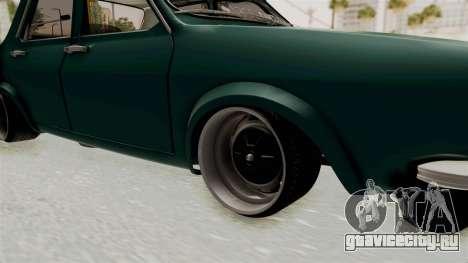 Dacia 1300 Order для GTA San Andreas вид сзади