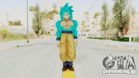 Dragon Ball Xenoverse Goku SSJ4 SSGSS для GTA San Andreas второй скриншот