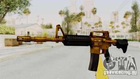 M4A1 Gold для GTA San Andreas