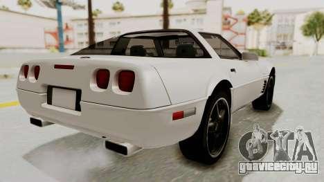 Chevrolet Corvette C4 1996 для GTA San Andreas вид слева