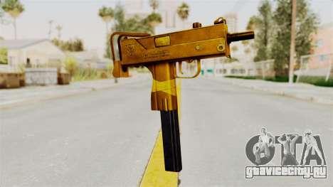 MAC-10 Gold для GTA San Andreas