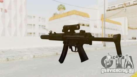MP5SD для GTA San Andreas третий скриншот