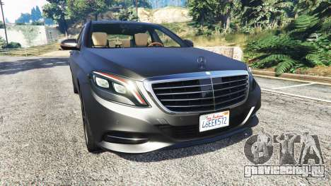 Mercedes-Benz S500 (W222) [michelin] v2.1 для GTA 5