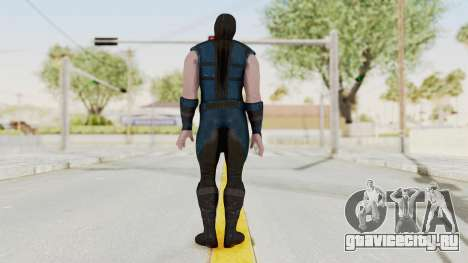 Mortal Kombat X Klassic Sub Zero v1 для GTA San Andreas третий скриншот