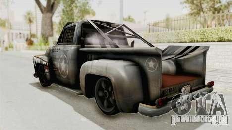 GTA 5 Slamvan Race PJ2 для GTA San Andreas вид слева