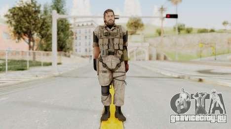 MGSV The Phantom Pain Venom Snake No Eyepatch v3 для GTA San Andreas второй скриншот