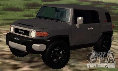 Toyota FJ Cruiser для GTA San Andreas вид слева