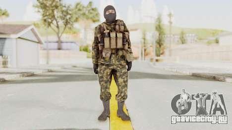 COD Black Ops Russian Spetznaz v5 для GTA San Andreas второй скриншот