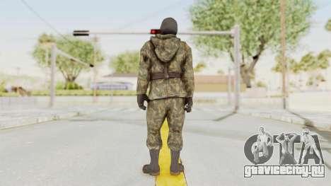 COD Black Ops Russian Spetznaz v2 для GTA San Andreas третий скриншот