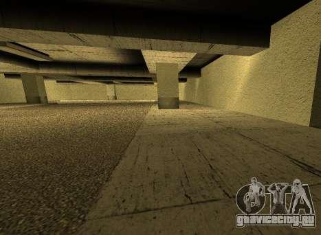 LSPD New Garage для GTA San Andreas пятый скриншот