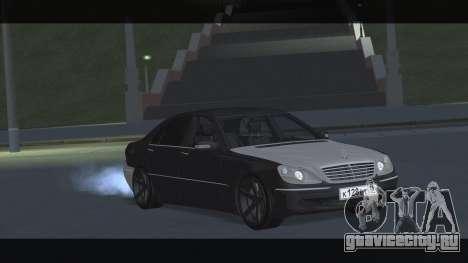 Mercedes S600 W220 JoRick Revazov для GTA San Andreas