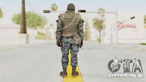 COD BO Russian Spetznas Flak MP v1 для GTA San Andreas третий скриншот