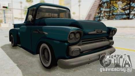 Chevrolet Apache 1958 для GTA San Andreas вид справа