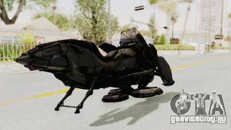 CoD Advanced Warfare - Hover Bike для GTA San Andreas вид сзади слева