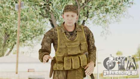 MGSV The Phantom Pain Soviet Union Vest v1 для GTA San Andreas