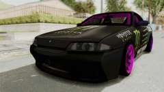 Nissan Skyline R32 Drift Monster Energy Falken