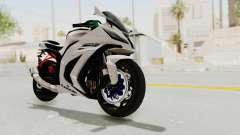 Kawasaki Ninja ZX-10R Modification для GTA San Andreas