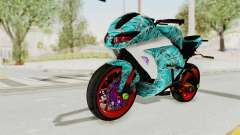 Kawasaki Ninja 250FI Stunter для GTA San Andreas