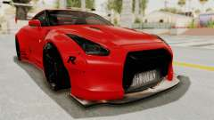 Nissan GT-R R35 Liberty Walk LB Performance v2 для GTA San Andreas