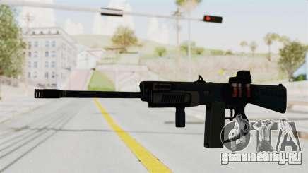 AA-12 Eotech Holo для GTA San Andreas