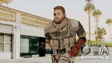MGSV The Phantom Pain Venom Snake Scarf v3 для GTA San Andreas