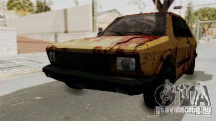Zastava Yugo Koral 55 Rusty для GTA San Andreas
