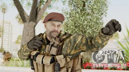COD Black Ops Russian Spetznaz v7 для GTA San Andreas