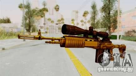 M14EBR Gold для GTA San Andreas