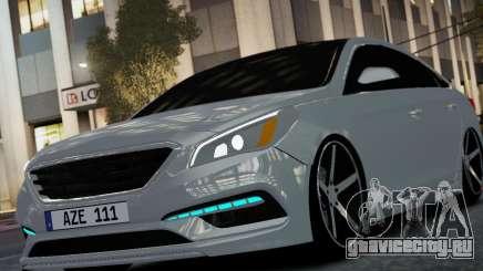 HYUNDAI SONATA 2015 AZE STYLE для GTA 4