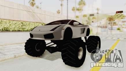 Lamborghini Gallardo 2005 Monster Truck для GTA San Andreas