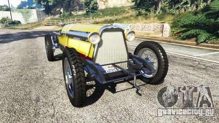 Fiat Mefistofele v1.2 [black tires] для GTA 5