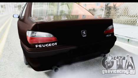 Peugeot 406 Coupe для GTA San Andreas вид сбоку