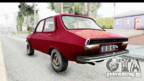 Dacia 1310 TLX v2 для GTA San Andreas вид сзади слева