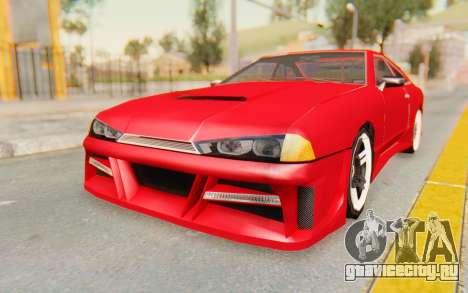 Elegy GT v1 для GTA San Andreas вид сзади слева