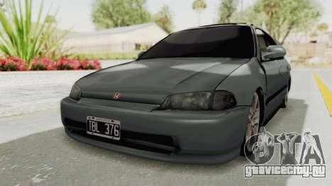 Honda Civic SI Sedan 1992 для GTA San Andreas