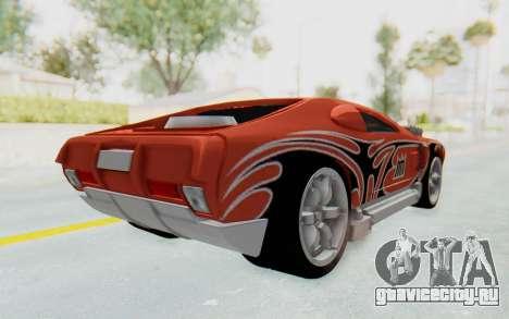 Hot Wheels AcceleRacers 2 для GTA San Andreas вид сзади слева