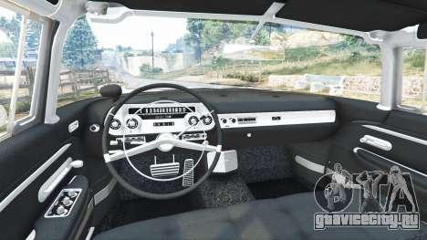 Cadillac Eldorado Brougham 1957 v1.1 для GTA 5 вид спереди справа