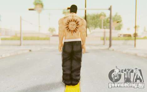 Def Jam Fight For New York - Henry Rollins для GTA San Andreas третий скриншот