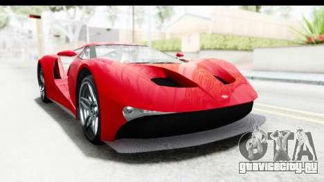 GTA 5 Vapid FMJ IVF для GTA San Andreas вид справа