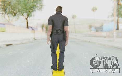 CoD BO2 LAPD v3 для GTA San Andreas третий скриншот
