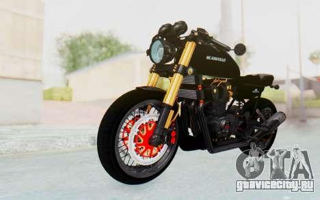Kawasaki Z1000 Moghe Cafe Racer для GTA San Andreas вид справа