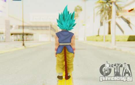 Dragon Ball Xenoverse Goku Kid GT SSGSS для GTA San Andreas третий скриншот