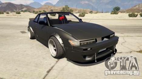 Nissan Silvia S13 6666 Rocket Bunny 1.7 для GTA 5
