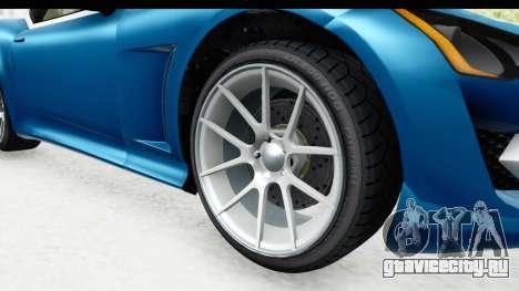 GTA 5 Lampadati Furore GT SA Lights для GTA San Andreas вид сзади