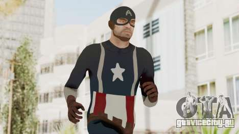Trevor in Captain America Suit для GTA San Andreas
