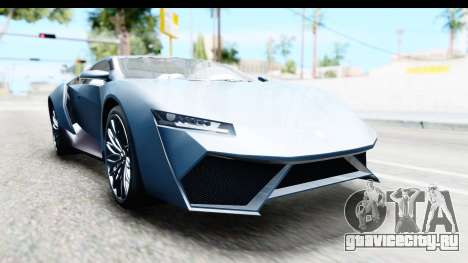 GTA 5 Pegassi Reaper v2 для GTA San Andreas вид сзади слева