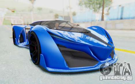 GTA 5 Grotti Prototipo v1 для GTA San Andreas вид справа