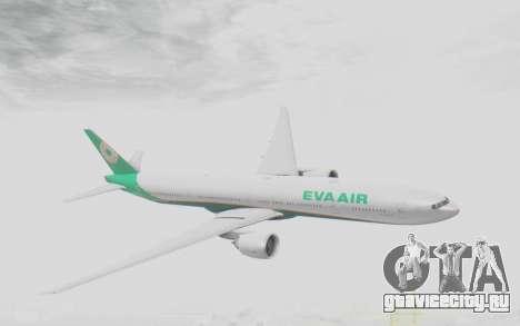 Boeing 777-300ER Eva Air v3 для GTA San Andreas