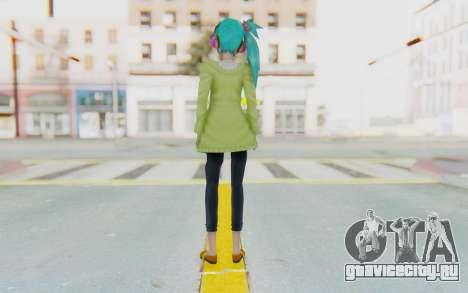 Autumn Breeze Miku для GTA San Andreas третий скриншот
