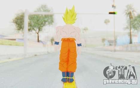 Dragon Ball Xenoverse Goku Shirtless SSJ для GTA San Andreas третий скриншот